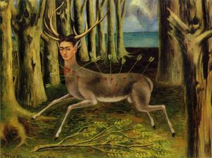 The Little Deer by Frida Kahlo