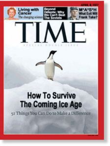 Time Cover - Ice Age